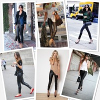 Dare to Wear: Leather Leggings