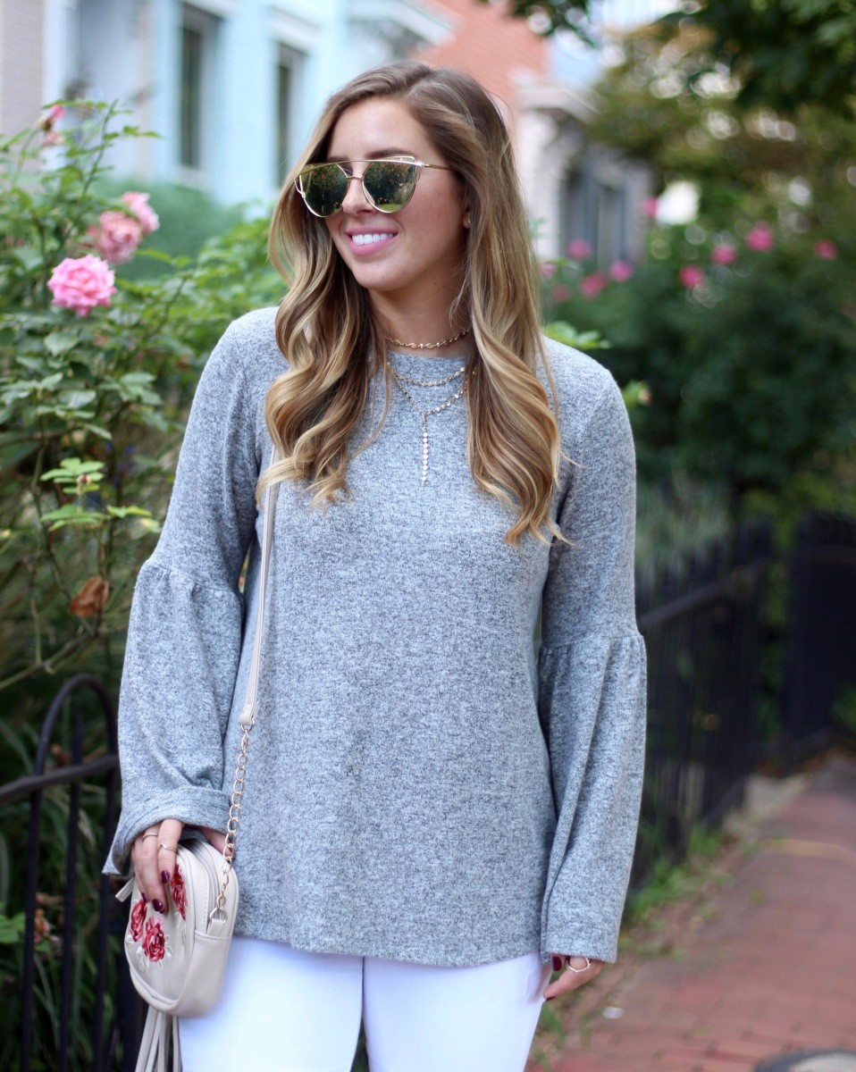 Bell Sleeves for Fall