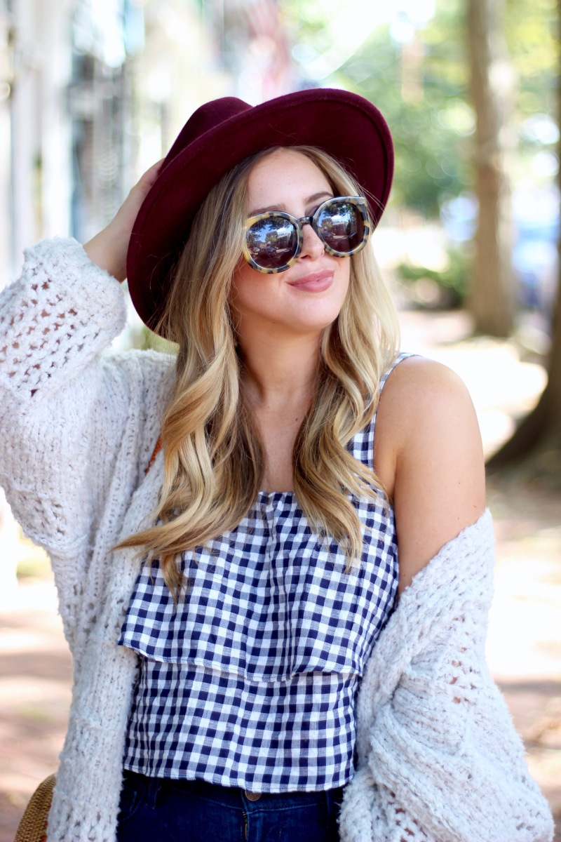 October in Gingham